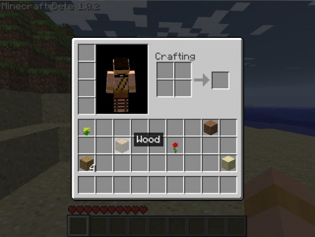 Minecraft Beta Screenshot