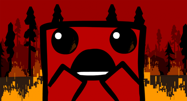 Super Meat Boy - Fire