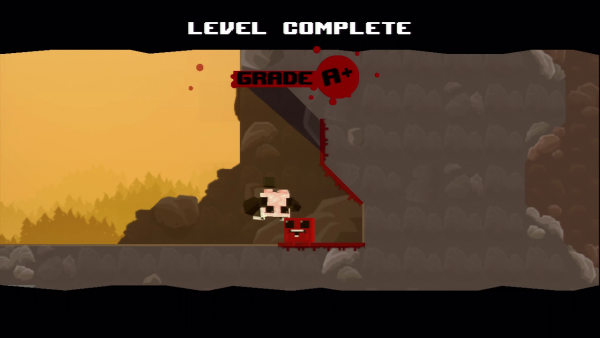 Super Meat Boy - Level Complete